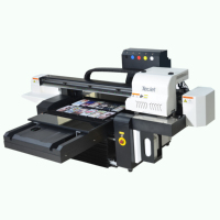 TECJET6090 600*900mm 5160dpi DX7, DX5, XP600 digital printer playing visiting card uv printing machine