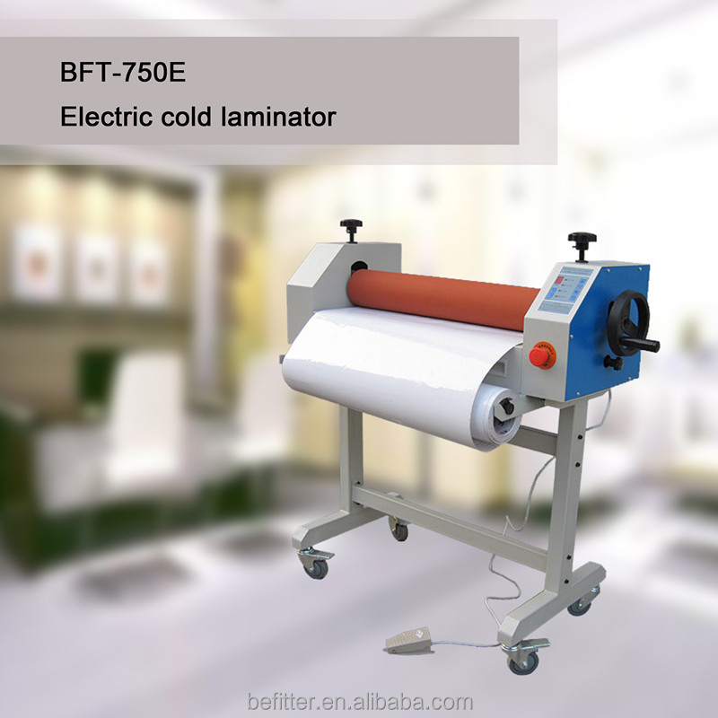 Graphic Printing Shop Electric and Manual Cold laminator 750