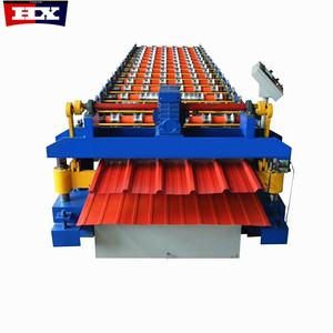 900 Cold Rolled Steel ibr roof sheet machine/roof sheet forming machine for africa