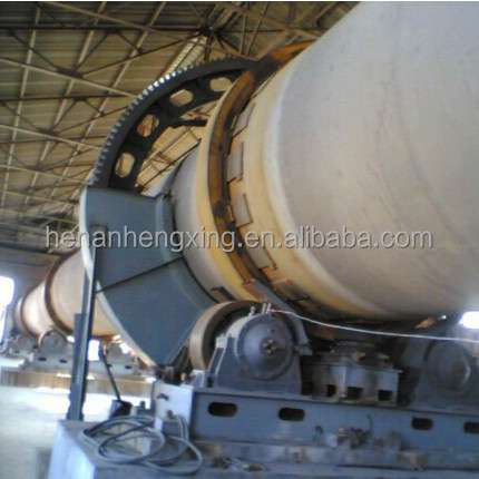 China Supplier 500t/d Gypsum Calcination Kiln Manufacturer