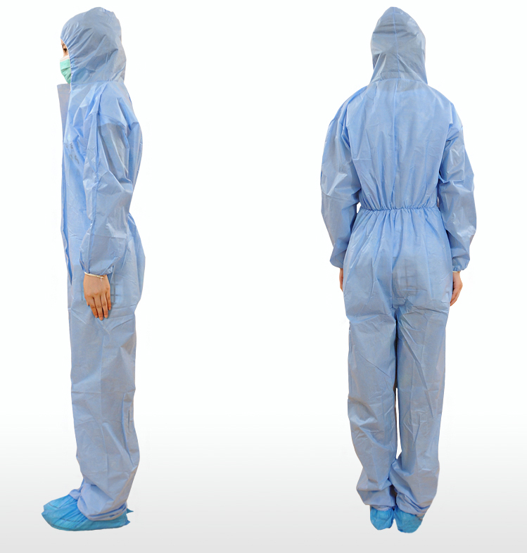 HOT SALE Microporous Disposable Coveralls Non woven SMS Coverall Workwear Safety Coverall Suits
