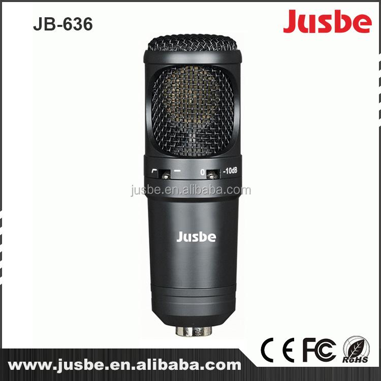 Jusbe JB-363 alloy material studio professional recording microphone