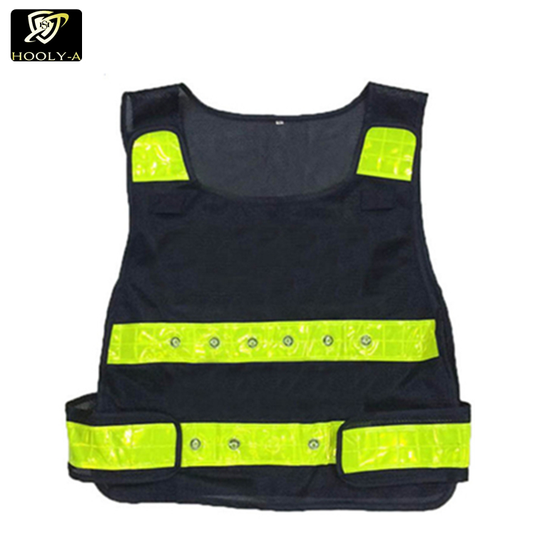 Workplace Safety Supplies 2019 Latest Design Waistcoat Reflective V-shaped Reflective Safety Vest For Traffic Light-reflecting Overalls High Visibility Let Our Commodities Go To The World