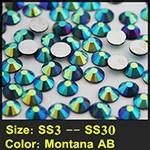איכות גבוהה זכוכית אבנים 3SS כדי 30SS קשת שטוחה חזרה אמנות ציפורן דבק על אי תיקון חם Rhinestones