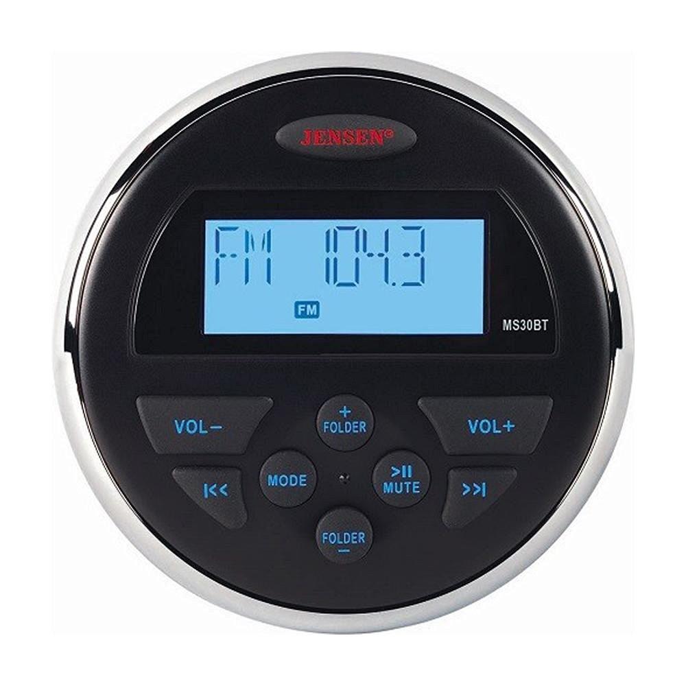 Jensen MS30BTR AM, FM and USB Waterproof Bluetooth Stereo