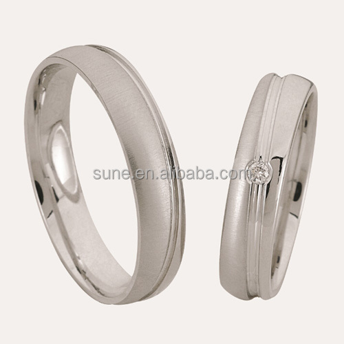 oem jewelry new model wedding ring anillos de oro y diamantes