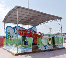 Fantastic small amusement park machine the disco tagada for sale
