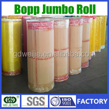 China Manufacturer High Quality Jumbo Rool/our Factory Bopp Tape ...