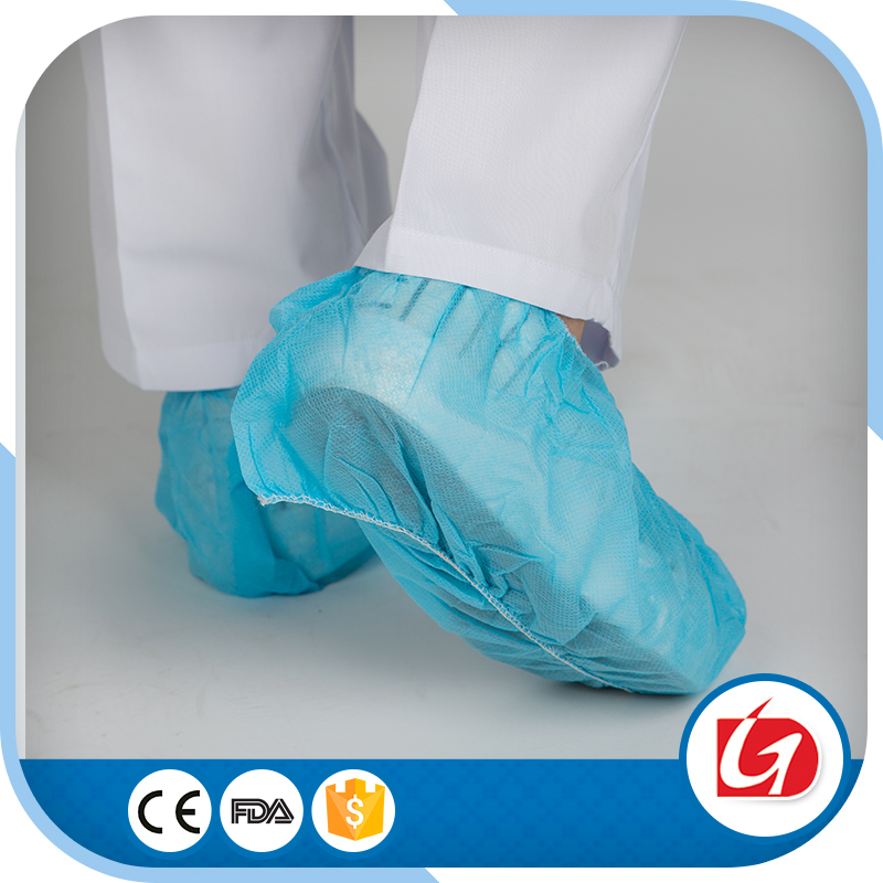 Disposable PP nonwoven PE shoe cover