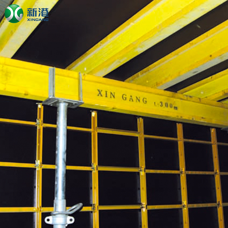 The main ladder frame ringlock scaffolding custom color painted H frame scaffolding