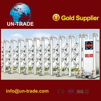 Automatic security gates Industrial retractable main gate