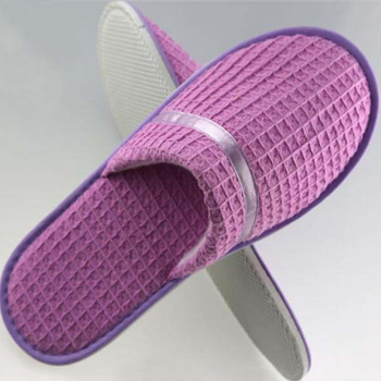 home collection washable bedroom shoes purple women cotton slippers
