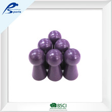 nice craft purple wooden chess / bowling pins ball / skittles mover educational toy