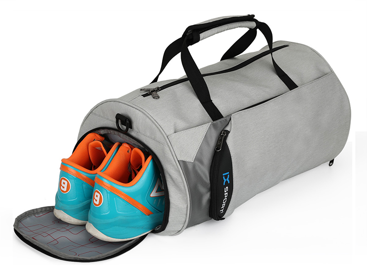 Ginzeal Custom Cool Lightweight Nylon Travel Shoe Sport Duffle Bag