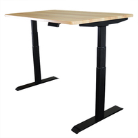 Electric height adjustable sit standing computer lifting office desk