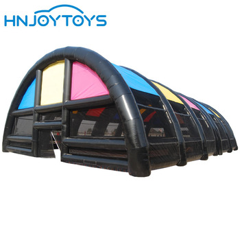 Black color large event for party /show/advertising tent hire inflatable