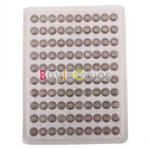 100 x AG4 SR626 377 LR626 LR66 SR66 клетки кнопки аккумулятор № 1971