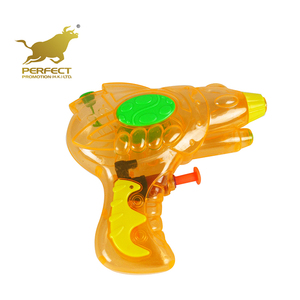 wholesale summer plastic small transparent water gun with single nozzle