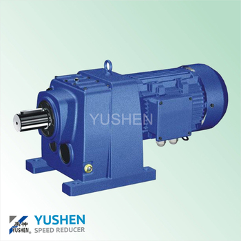 0.18kw R87 Ratio 289 B5 Flange Motor Gearbox Wind Turbin Gearbox ...