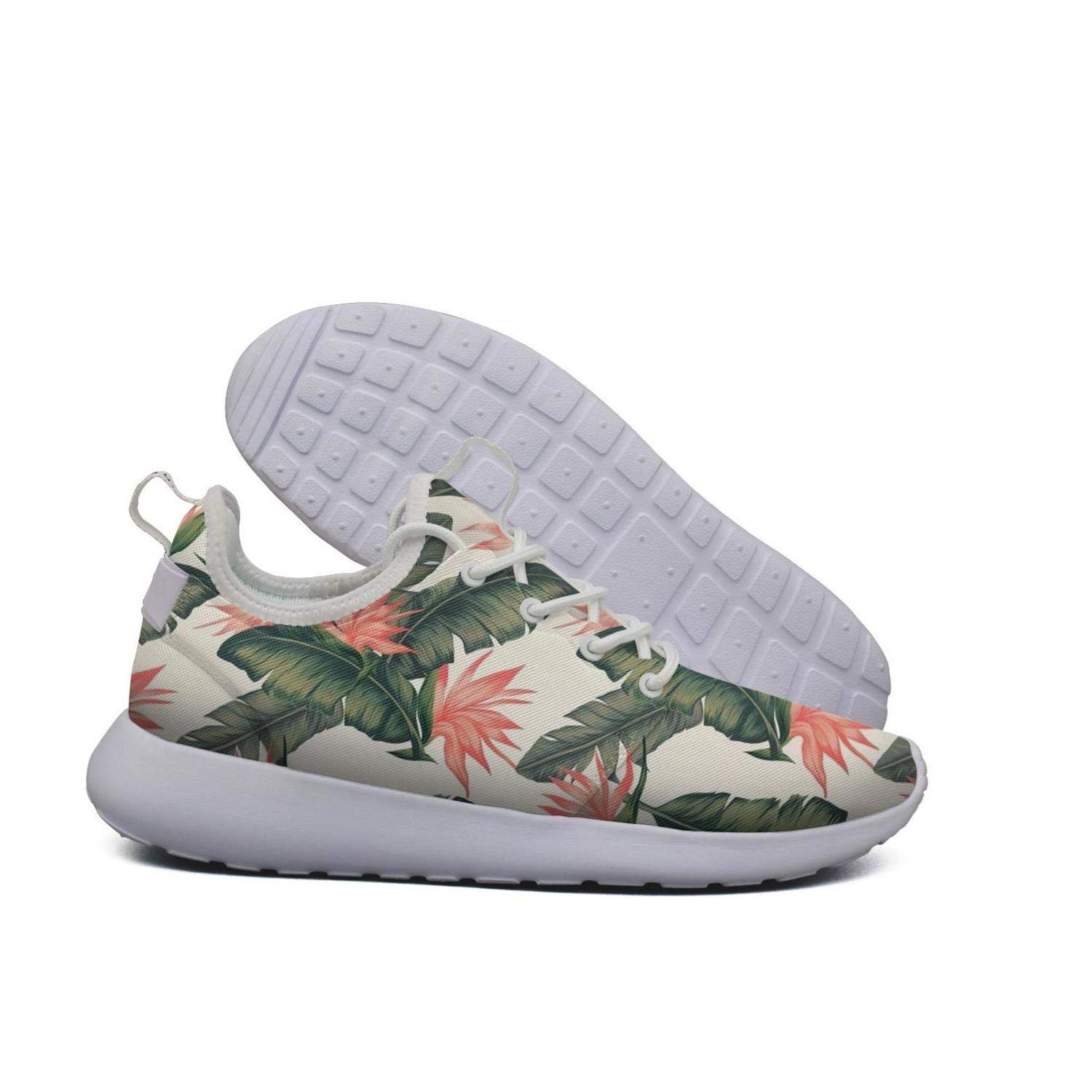 HAPPOSPORT Sunflower Flower Brown Cool Print Womens Sports Running Shoes Casual Lightweight Athletic Sneakers