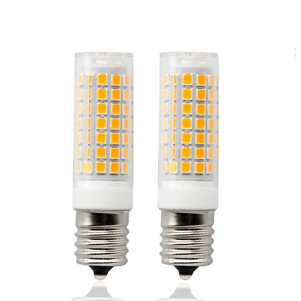 E17 LED Microwave Bulb 8.5 Watt Warm White 3000K Intermediate Base 75W Equivalent,(2-Pack)