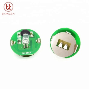 Quality guarantee custom color single battery POP flashing led module