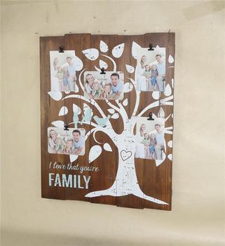New Design Family Tree Clip Collage Photo Frame 5 4 6