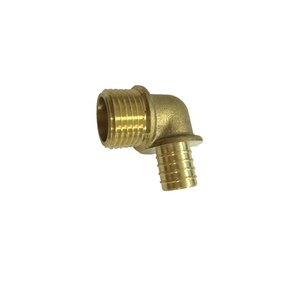 Male elbow brass fittings for pipe,copper and brass parts