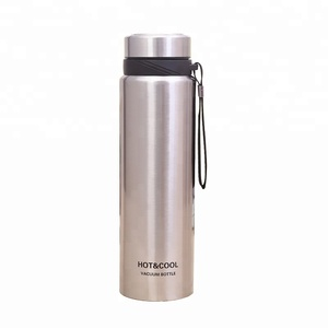 Hot style outdoor sports water cup customization 18 8 stainless steel high grade vacuum flask 1000ml