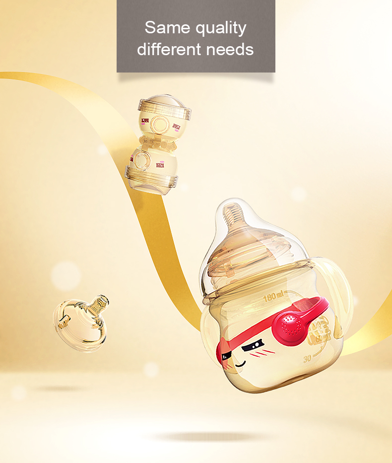 Antibacterial Baby gift set Customized color baby products suppliers newborn feeding bottles Newborn feeding set