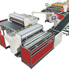 SLZ-119 Automatic high speed paperboard v grooving and packing machine,rigid box production line