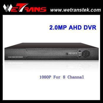 Wetrans 1080p Real Time Support Osd Menu Hybrid Ahd 8ch Dvr