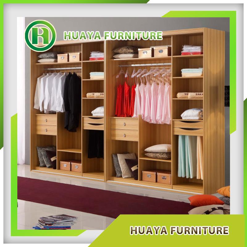 2017 New Bedroom Wall Mdf Wardrobe Closet