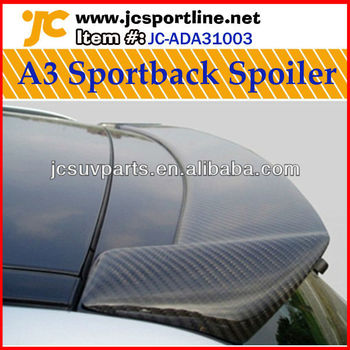 Sportback Carbon Roof Spoiler For Audi A3 8p 05 08 Model Buy A3 8p Roof Spoiler A3 Carbon Spoiler 8p Spoiler Wing For Audi Product On Alibaba Com