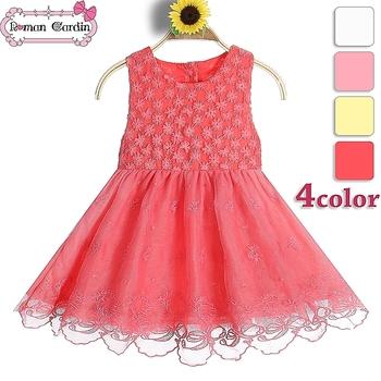 Child Baby Dress Model Newborn Flower Girl Dresses For Wedding