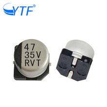 electrolytic capacitor screw terminal RVT series of 6.3*7.7 aluminum 35V 47UF