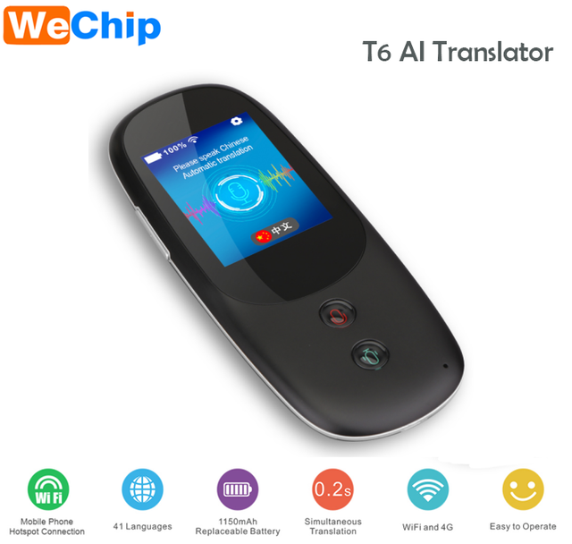 Spanish Translator Portable Instant 2-way Voice Translation 41 Languages To  English Korean Dutch Arabic French Chinese,Etc  - Buy Instant 2-way Voice