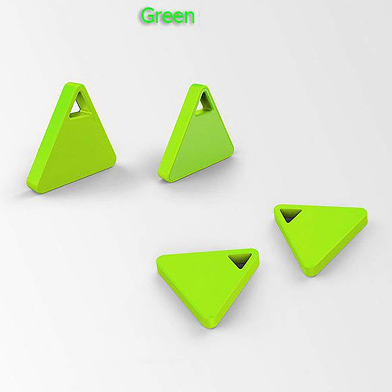 GerTong 1PCS Bluetooth Smart Mini Tag Tracker Pet Child Wallet Key Finder GPS Locator Alarm & Remote Control Phone Self-TimerAnti-lost Tracker Device Green
