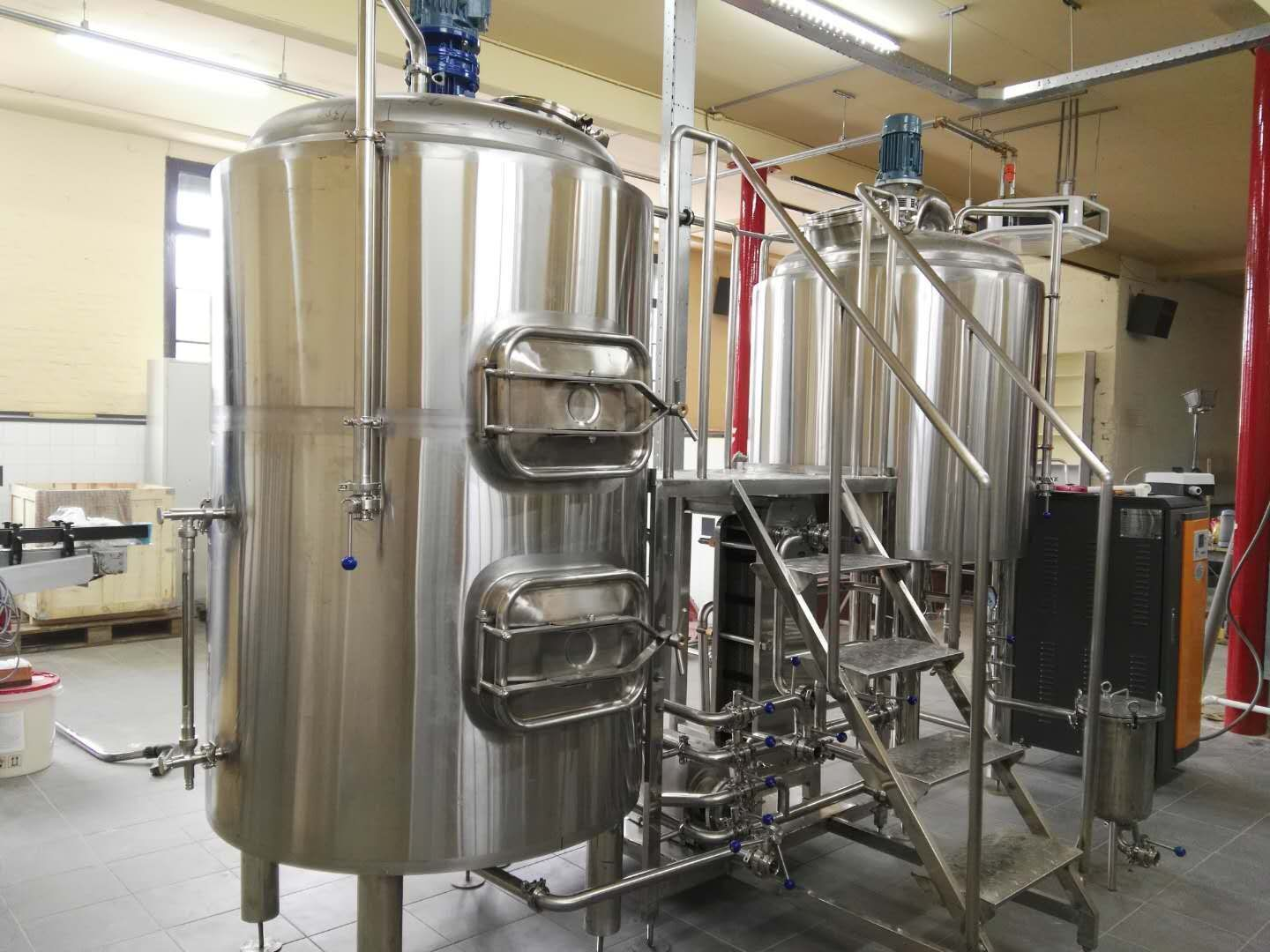 500L Microbrewery Systeem Micro Brouwerij Apparatuur
