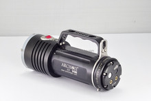 rechargeable high power 5000lm cree xml t6 led diving flashlight