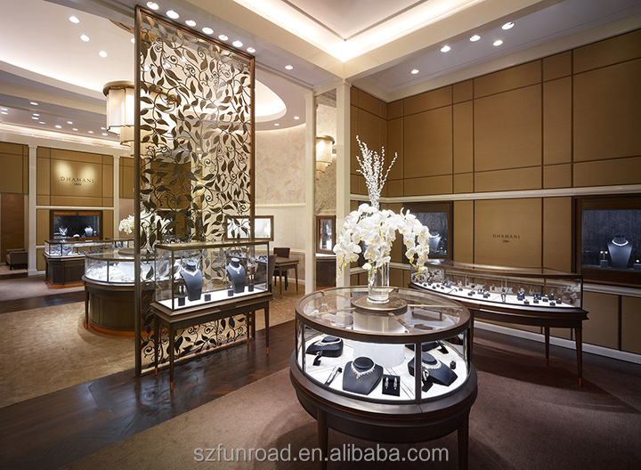 Customized Jewelry Showcase Display For Jewelry Store Design Plan Adorable Jewelry Store Interior Design Plans