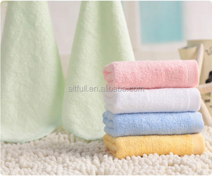 Alibaba express high quality organic bamboo fiber baby face towel,wash cloth ,baby new born products gift