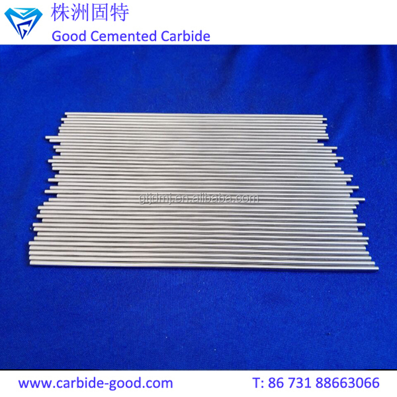 Manufacturer Supply Different Sizes High Quality Polished Carbide Rod With Without Chamfer End