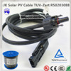 home solar system used electric wire or 220 volt electrical wire