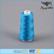 20s/2 60tex 50tickets jeans sewing thread spun polyester