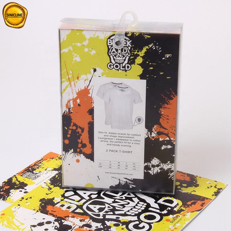 Sinicline 2019 legal design colorido logotipo impresso mens underwear embalagem pendurado