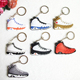 >>>Woman Men Bag Charm Accessories Key Rings Promotion Gifts Mini Silicone Sneaker Jordan Keychain 3D Key Chain