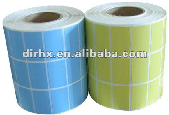 2012 self adhesive label stock for printing