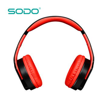 Sodo Mh2 Bluetooth Speaker Bluetooth Headphones 2 In One Headset With Bluetooth 4 2 Earbuds Earphonepink For Mobile Computer View Bluetooth Headphone Sodo Product Details From Shenzhen Ditmo Electronic Technology Co Ltd On