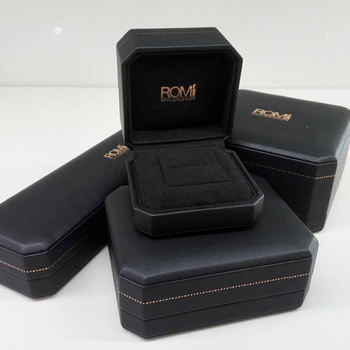 China Wholesale Custom Black Leather Jewellery Boxes For Gift Jewelry Pendant Box Buy Leather Box For Ring Luxury Leather Jewelry Ring Box Faux
